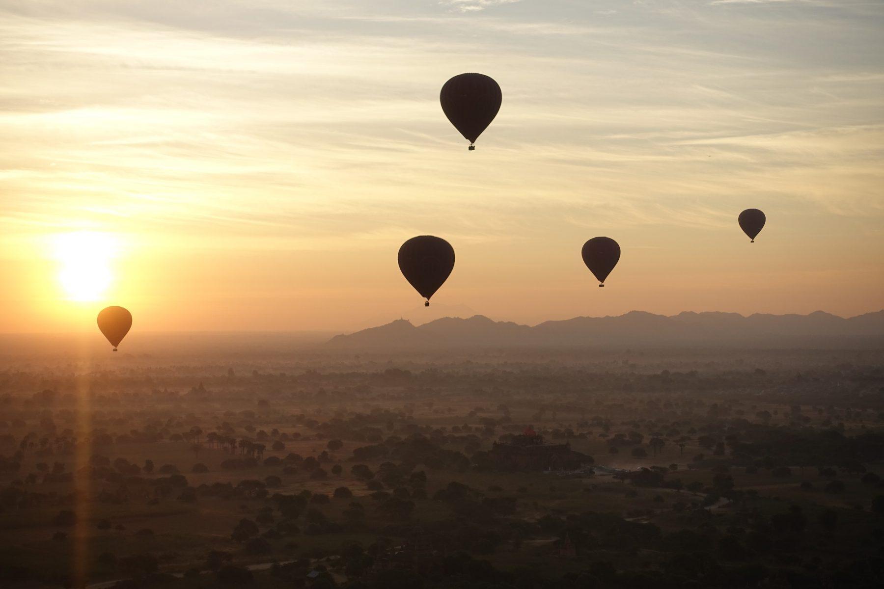 montgolfiere indonesie